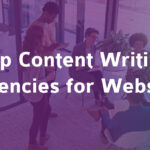 Top Four Content Writing Agencies in India for Website