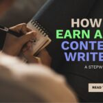 How to earn as content writer in India?